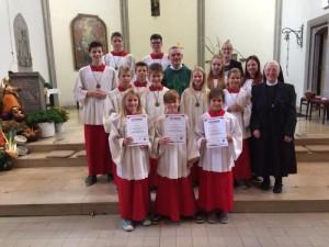 St. Antonius Messdieneraufnahme 2016